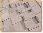 Signs of roofing damage